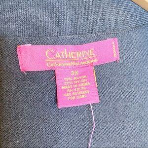 Catherine Malandrino Sweaters - Catherine Malandrino | NWT Gray Cardigan Duster 3X